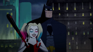 Batman in the Harley Quinn cartoon