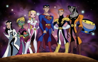 Young Superman and the Legion