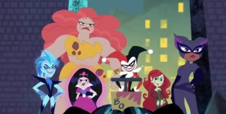 Harley with the Super Villain Girls