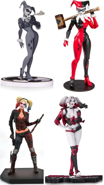 From DC Direct, McFarlane Toys, Diamond Select and DC Collectibles