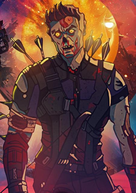 Zombie Hawkeye