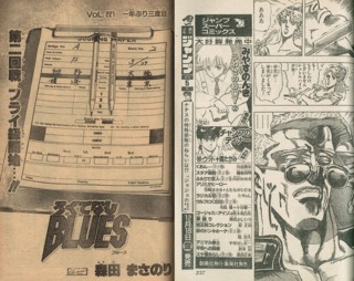 Rokudenashi Blues (Chapter Numbers Removed from Titles); Jojo no Kimyo na Boken (Ads Removed)