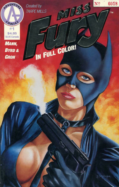 Miss Fury in Full Color