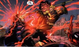 Stabbing Darkseid