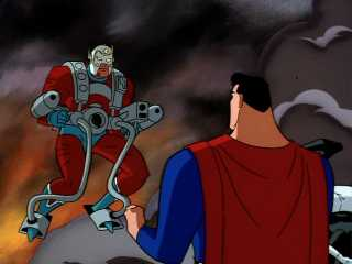 Orion teaming up with Superman