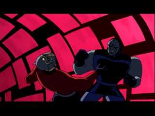 Orion and Darkseid's only animated fight
