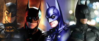 The live-action versions of Batman (1989 - 2012)