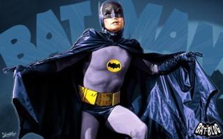 Adam West's Batman in the 1960's