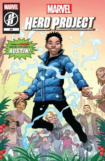 Marvel Hero Project: Austin
