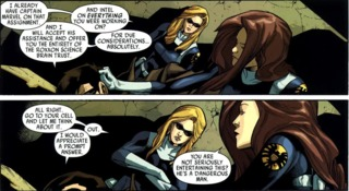 Spider-Woman becomes an agent of S.H.I.E.L.D.