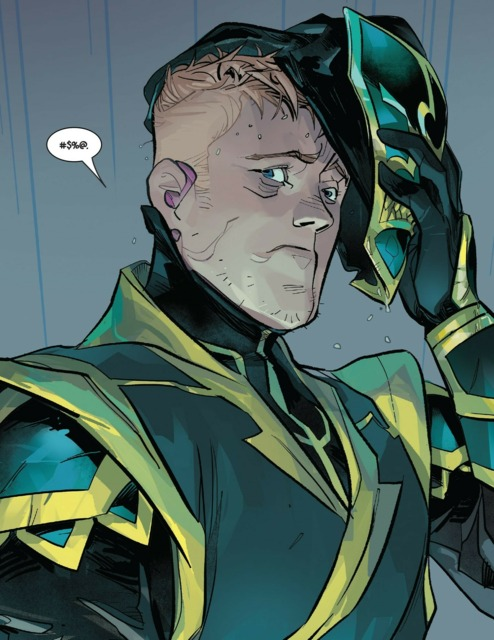 Ambivalent Hawkeye as Ronin