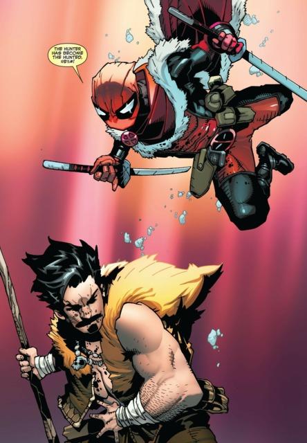 Kraven vs Deadpool