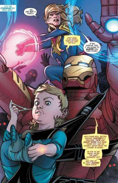 Danvers and Stark protect Brandy