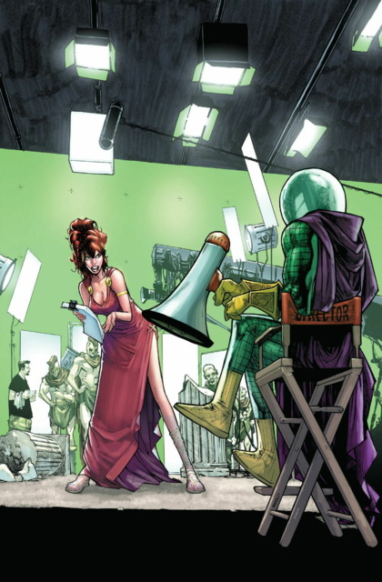 Mysterio directs his own biopic