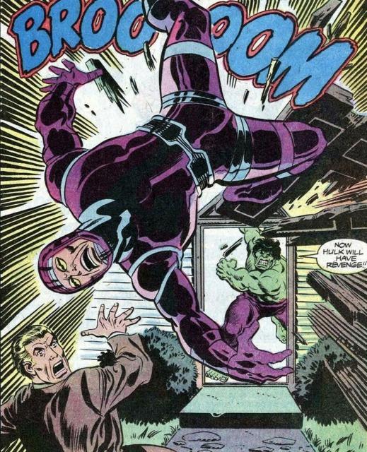 Hulk vs Machine Man