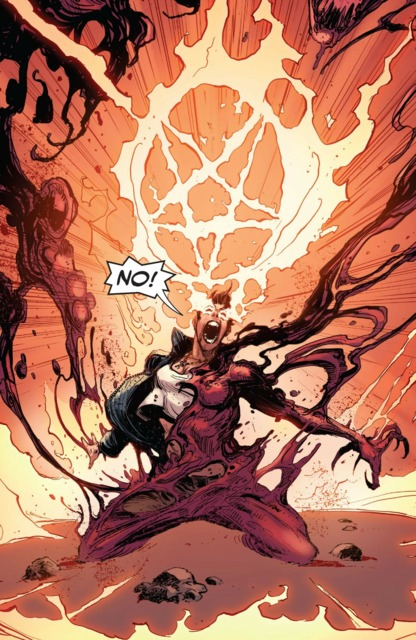 Andi sadly burns up Scream to save Scream and herself from Carnage