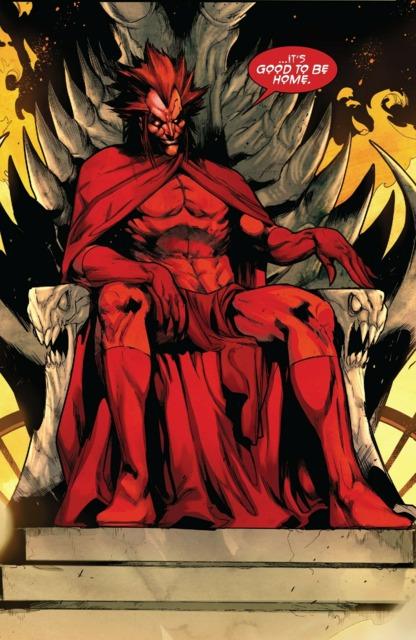 Mephisto returns to throne
