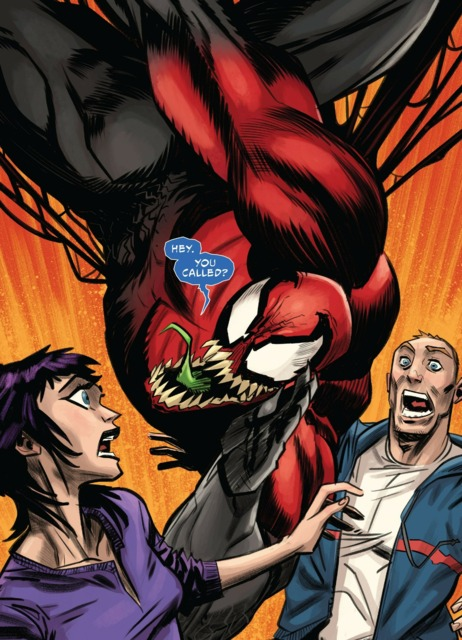 Toxin surprises Andi and Flash