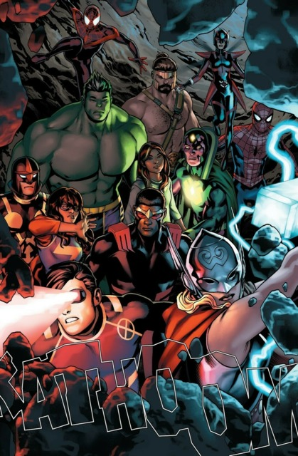 Champions and Avengers on Counter-Earth