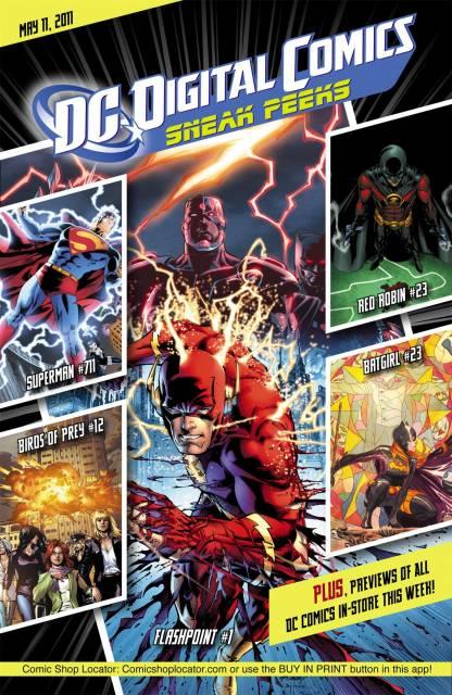 DC Digital Comics Sneak Peeks