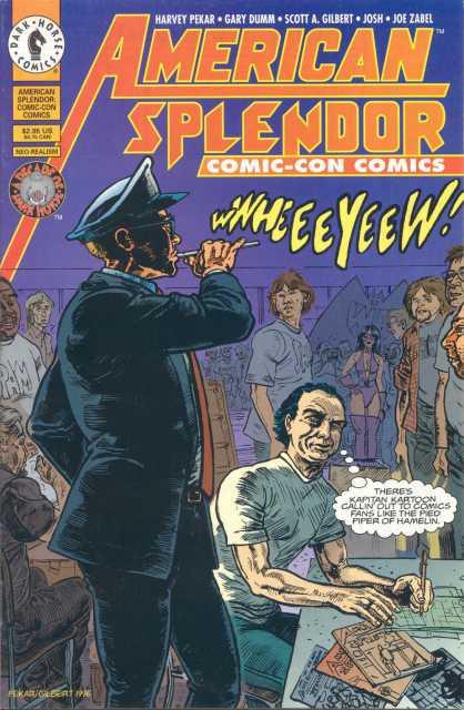 American Splendor: ComicCon Comics