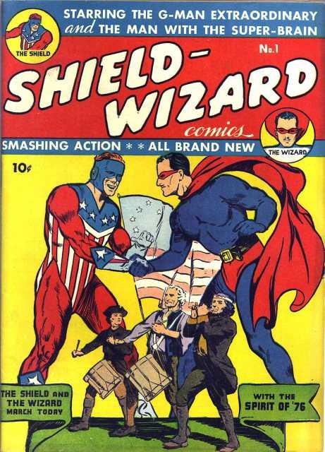 Shield-Wizard Comics