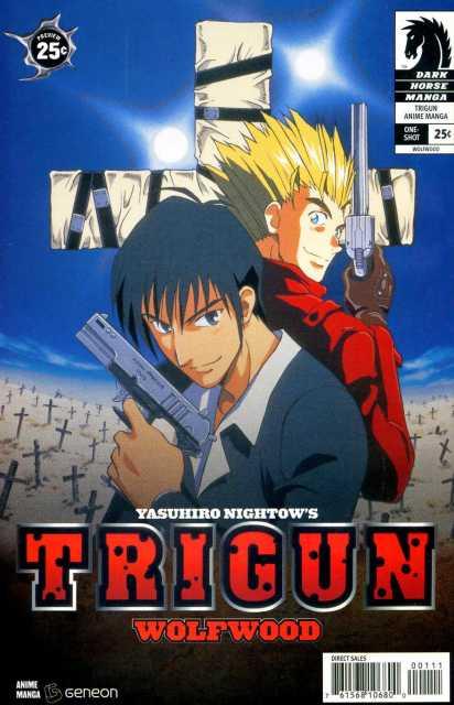 Trigun Anime Manga: Wolfwood