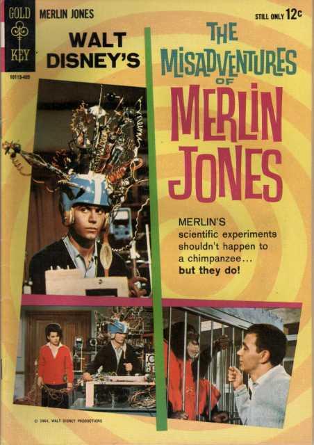 Walt Disney's The Misadventures of Merlin Jones