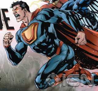 Ultraman, The New 52--art by Ivan Reis