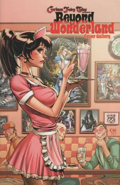 Grimm Fairy Tales: Beyond Wonderland Cover Gallery
