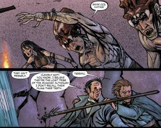 A 'lost tribe' in All Star Western #5 (2012)