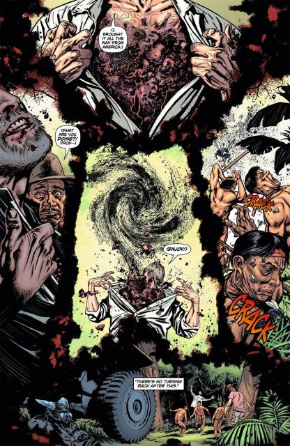 The Rot possesses indigenous people in Brazil in Swamp Thing #5