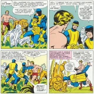 Ka-Zar in X-Men #10 (1965)