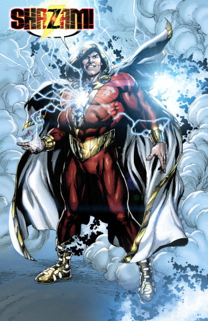 Billy's appearance as Shazam in the New 52