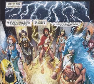 Shazam Gods