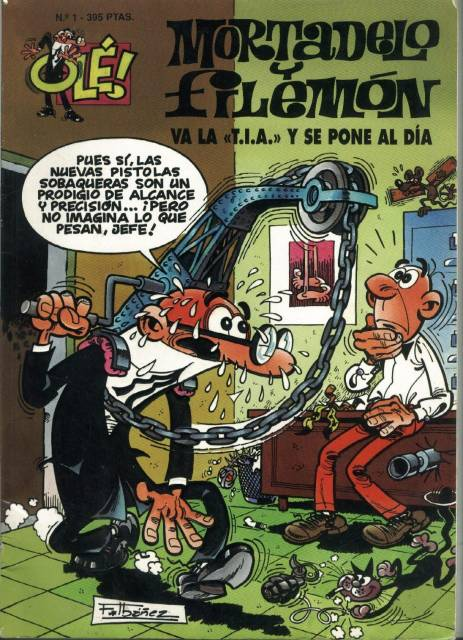 Coleccion Ole de Mortadelo y Filemon
