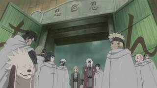Teams 7 and 8 set out to pursue Itachi.