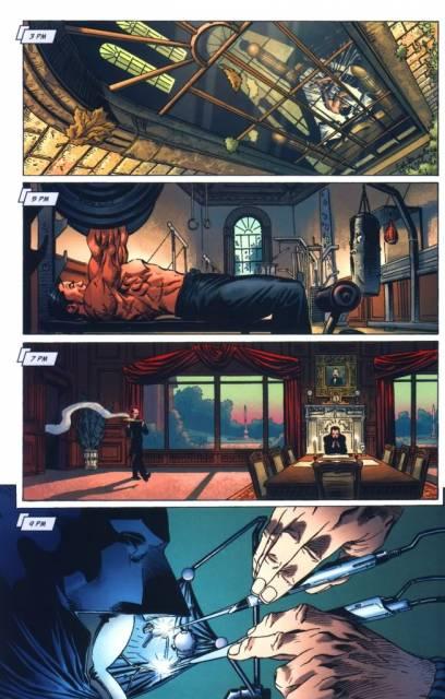 Batman's Daily Routine