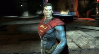 Superman in Injustice: Gods Among Us