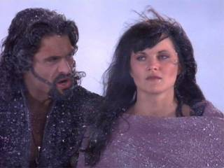 Xena with Ares the God of War