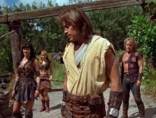 Xena, Gabrielle, Hercules, and Iolaus