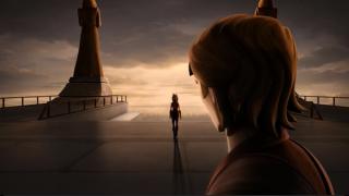 Leaving the Jedi Temple