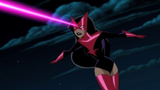 Carol as Star Sapphire in Justice League Unlimited