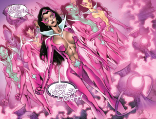 leading the new Star Sapphire Corps