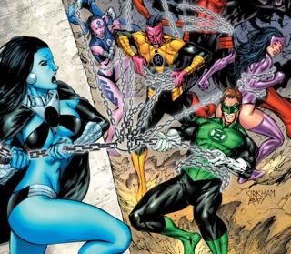 The New Guardians vs. Lyssa Drak