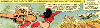Star Sapphire captures the crooks