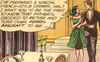 telling Hal that her father's given her the company