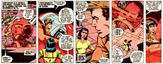 Carol dealing with troubled test-pilot Hal Jordan