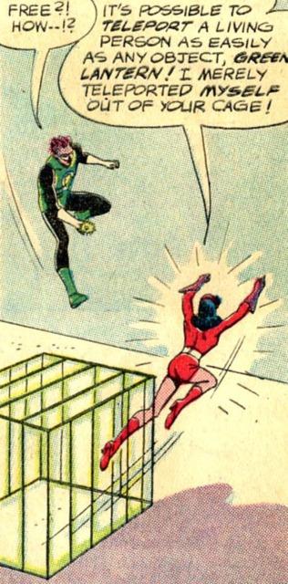 using teleportation