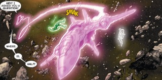 Protecting Kyle from Sinestro